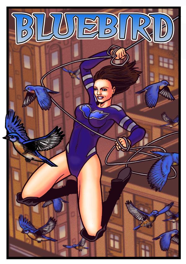 Bluebird Artwork by Kostmeyer